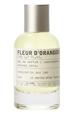 Женский парфюмерная вода fleur d'oranger 27 LE LABO бесцветного цвета, арт. 811901022677   Фото 1