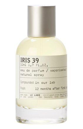 Женский парфюмерная вода iris 39 LE LABO бесцветного цвета, арт. 811901022684   Фото 1