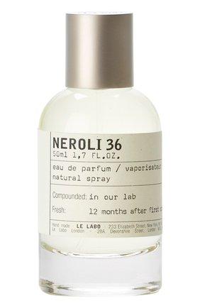 Женский парфюмерная вода neroli 36 LE LABO бесцветного цвета, арт. 811901022721   Фото 1