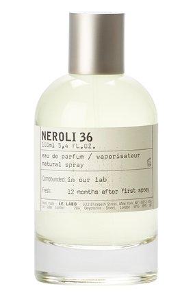 Женский парфюмерная вода neroli 36 LE LABO бесцветного цвета, арт. 811901022974   Фото 1