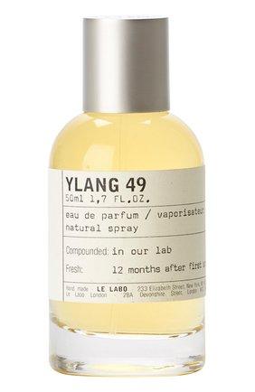 Женский парфюмерная вода ylang 49 LE LABO бесцветного цвета, арт. 811901022790   Фото 1