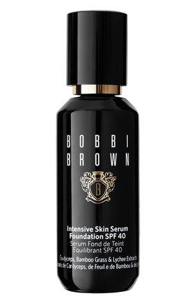 Женское тональное средство intensive skin serum foundation spf40, warm natural BOBBI BROWN бесцветного цвета, арт. EJKL-12 | Фото 1