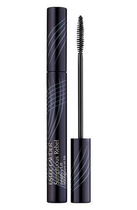 Женская тушь для ресниц sumptuous rebel, оттенок черный ESTÉE LAUDER бесцветного цвета, арт. PAG0-01 | Фото 1