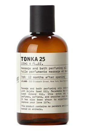 Женского масло для ванны и тела tonka 25 LE LABO бесцветного цвета, арт. 842185118763 | Фото 1