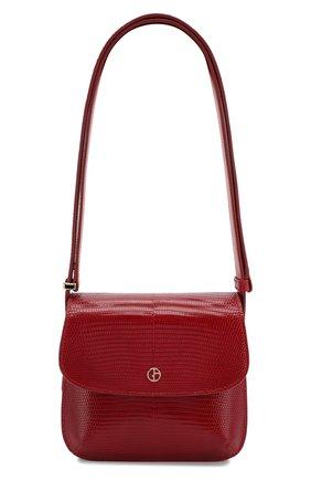 Женская сумка GIORGIO ARMANI красного цвета, арт. Y1E138/YPV8A/VSAL | Фото 1