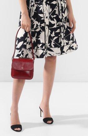 Женская сумка GIORGIO ARMANI красного цвета, арт. Y1E138/YPV8A/VSAL | Фото 2