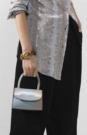 Женская сумка rachel mini BY FAR голубого цвета, арт. 20SSMINAUNLSMA   Фото 2