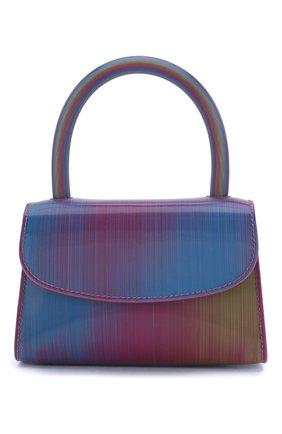 Женская сумка mini BY FAR разноцветного цвета, арт. 20SSMINARNLSMA   Фото 1