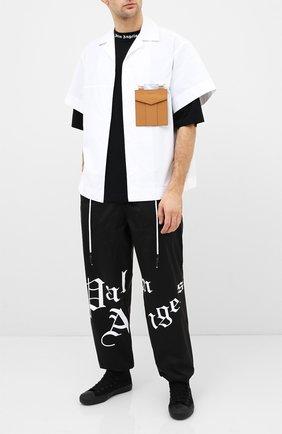 Мужские текстильные кеды YOHJI YAMAMOTO черного цвета, арт. HN-E02-061 | Фото 2