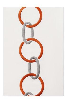 Мужского хлопковая наволочка FRETTE коричневого цвета, арт. FR6568 E0700 065B | Фото 1