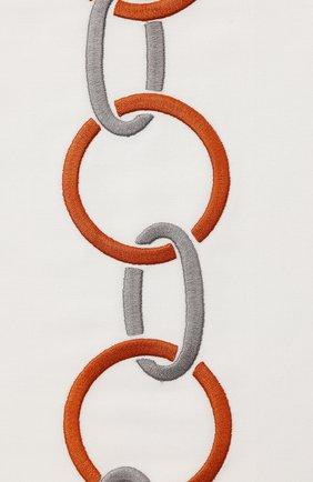 Мужского хлопковая наволочка FRETTE коричневого цвета, арт. FR6568 E0700 065B | Фото 2