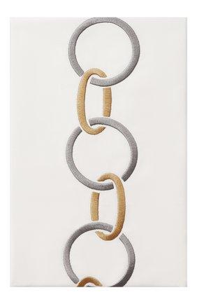 Мужского хлопковая наволочка FRETTE светло-серого цвета, арт. FR6568 E0701 030B | Фото 1
