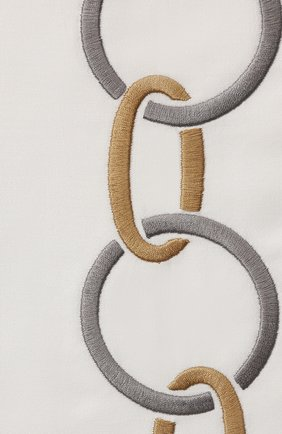 Мужского хлопковая наволочка FRETTE светло-серого цвета, арт. FR6568 E0701 030B | Фото 2