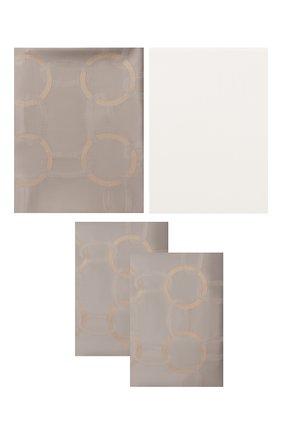 Мужского комплект постельного белья FRETTE серого цвета, арт. FR6593 E3462 260A | Фото 1