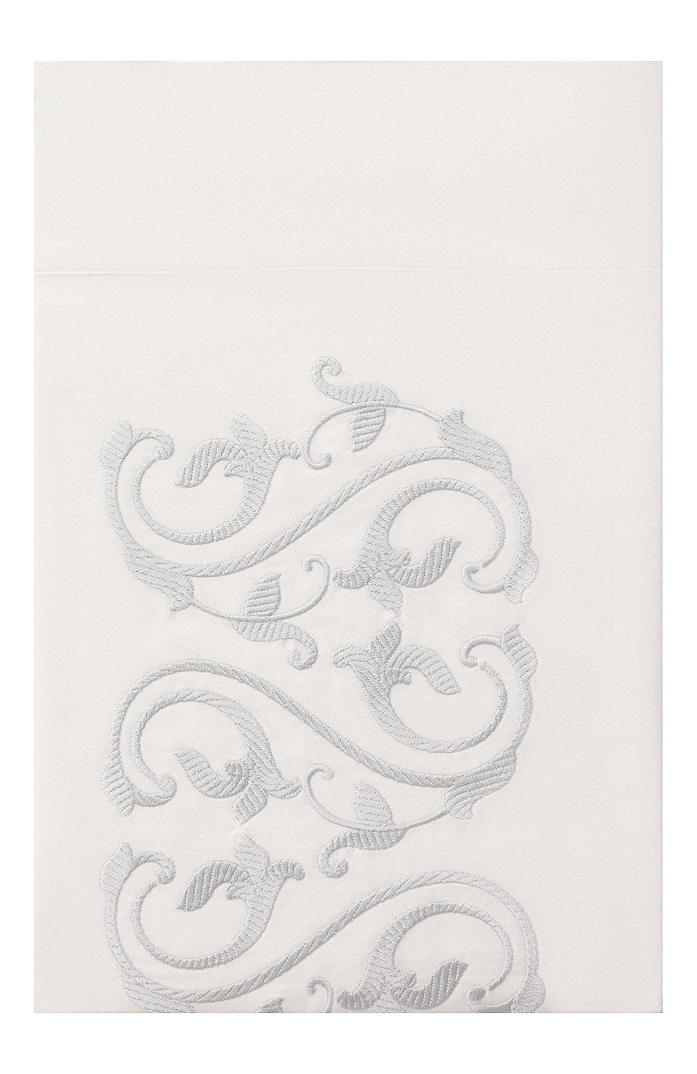 Мужского хлопковая наволочка FRETTE голубого цвета, арт. FR6571 E0701 030B   Фото 1