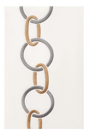 Мужского хлопковая наволочка FRETTE светло-серого цвета, арт. FR6568 E0700 051C | Фото 1