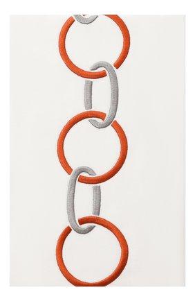 Мужского хлопковая наволочка FRETTE коричневого цвета, арт. FR6568 E0701 030B | Фото 1