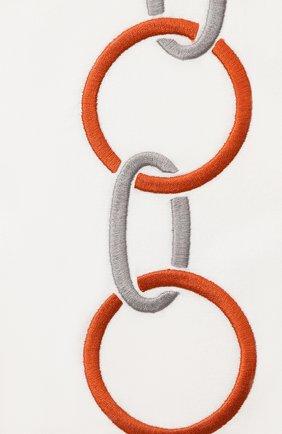 Мужского хлопковая наволочка FRETTE коричневого цвета, арт. FR6568 E0701 030B | Фото 2
