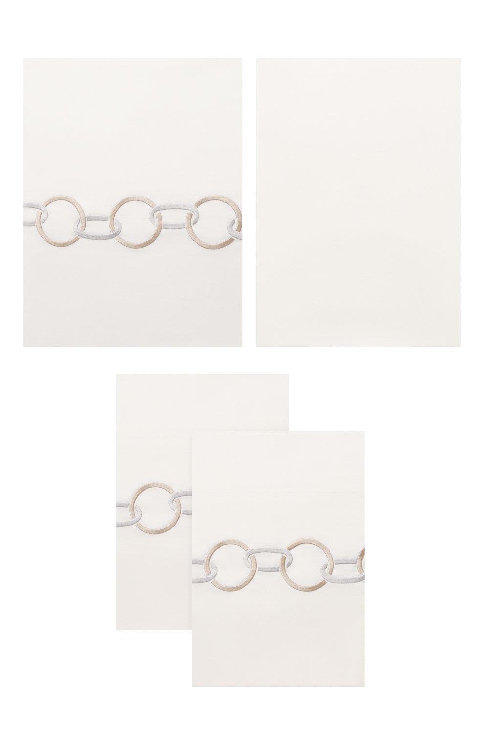 Мужского комплект постельного белья FRETTE бежевого цвета, арт. FR6568 E3434 260A | Фото 1