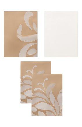 Мужского комплект постельного белья FRETTE серого цвета, арт. FR6666 E3440 260A | Фото 1