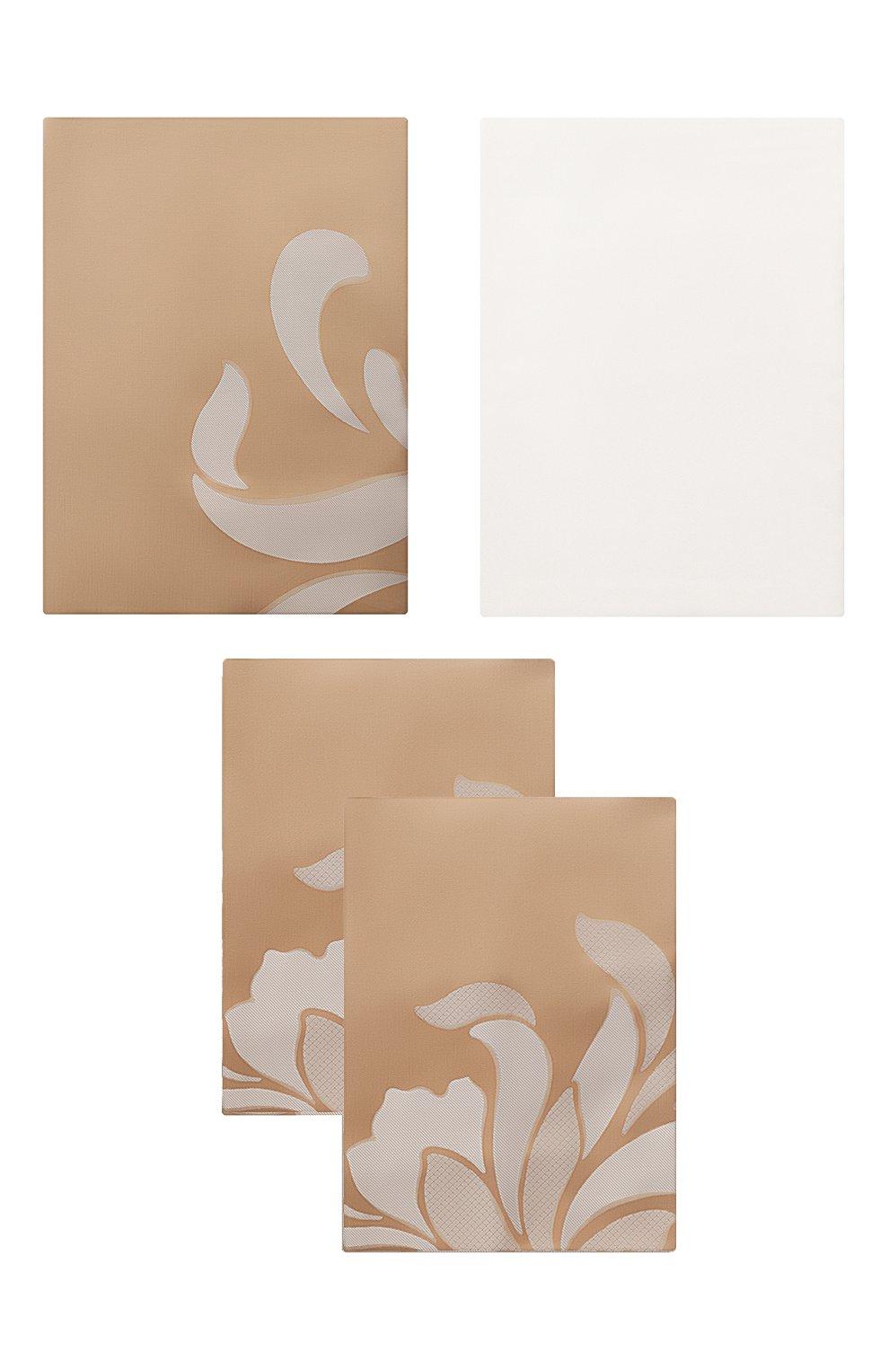 Мужского комплект постельного белья FRETTE серого цвета, арт. FR6666 E3478 240B | Фото 1