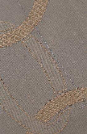Мужского хлопковая наволочка FRETTE серого цвета, арт. FR6593 E0741 065B | Фото 3