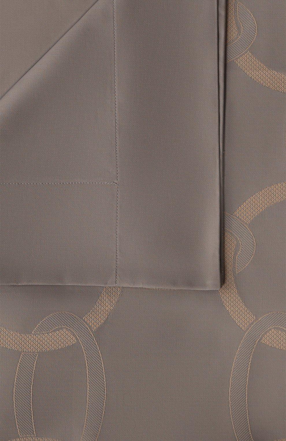 Мужского хлопковая наволочка FRETTE серого цвета, арт. FR6593 E0741 065B | Фото 4