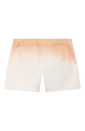 Детские джинсовые шорты CHLOÉ светло-розового цвета, арт. C14614 | Фото 2