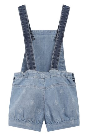 Детский джинсовый комбинезон CHLOÉ голубого цвета, арт. C04155 | Фото 2
