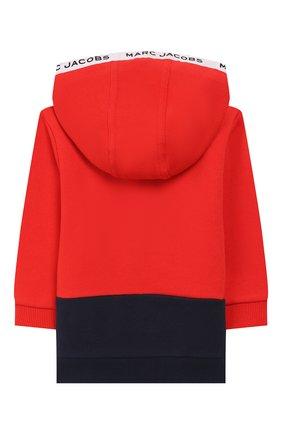 Детский комплект из кардигана и брюк MARC JACOBS (THE) красного цвета, арт. W08070   Фото 3