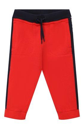 Детский комплект из кардигана и брюк MARC JACOBS (THE) красного цвета, арт. W08070   Фото 4