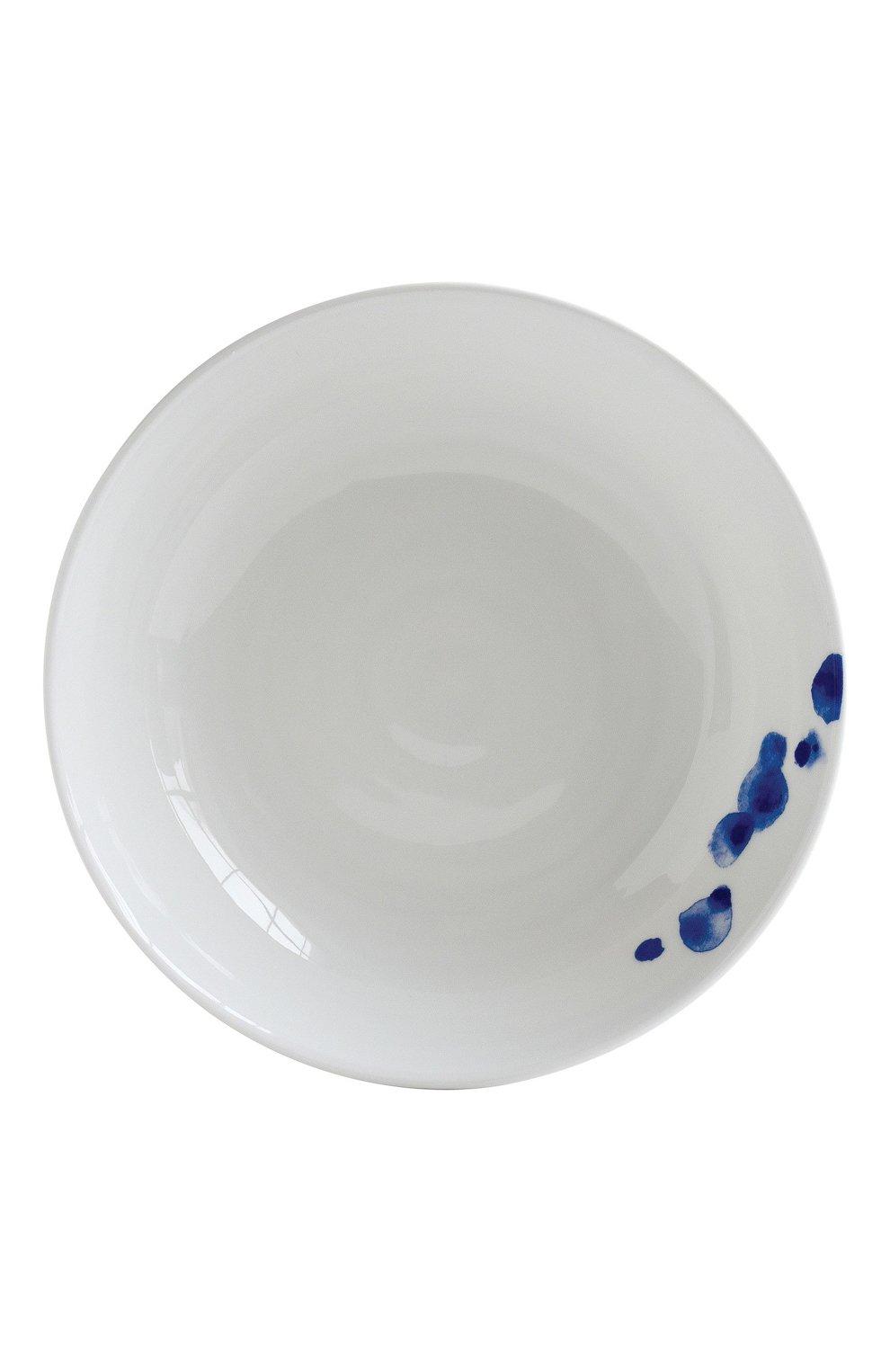 Мужского тарелка суповая ondee  BERNARDAUD синего цвета, арт. 1765/26 | Фото 1
