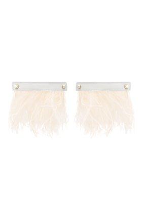 Женские патчи для обуви VALENTINO белого цвета, арт. TW260A39/YRY | Фото 1