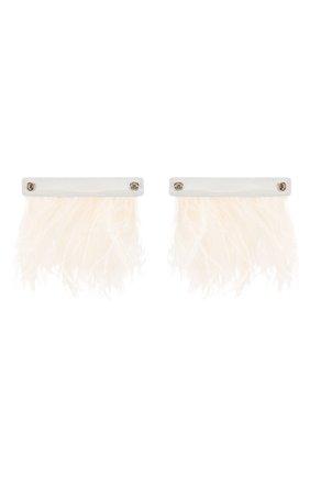 Женские патчи для обуви VALENTINO белого цвета, арт. TW260A39/YRY | Фото 2