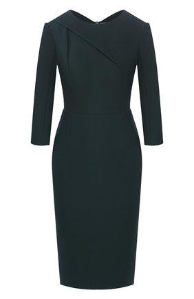 Женское платье ROLAND MOURET зеленого цвета, арт. EW20/S1834/F2196 | Фото 1