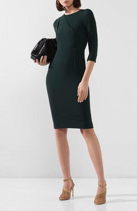 Женское платье ROLAND MOURET зеленого цвета, арт. EW20/S1834/F2196 | Фото 2