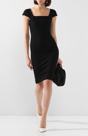 Женское платье ROLAND MOURET черного цвета, арт. EW20/S1761/F2196 | Фото 2