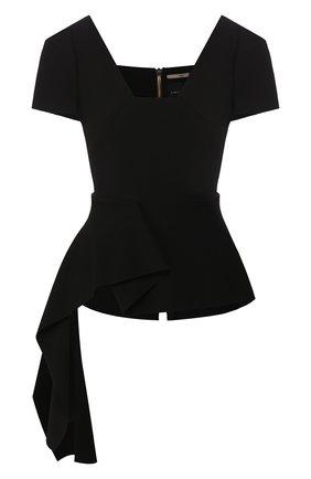 Женская топ ROLAND MOURET черного цвета, арт. EW20/S0982/F2196 | Фото 1