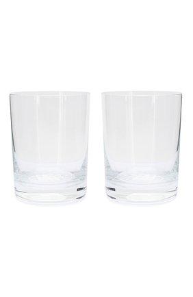 Мужского набор из двух стаканов BOTTEGA VENETA прозрачного цвета, арт. 431040/V9995 | Фото 1