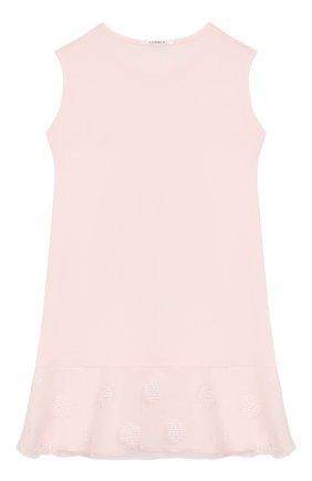 Детская сорочка LA PERLA розового цвета, арт. 71233/2A-6A | Фото 2