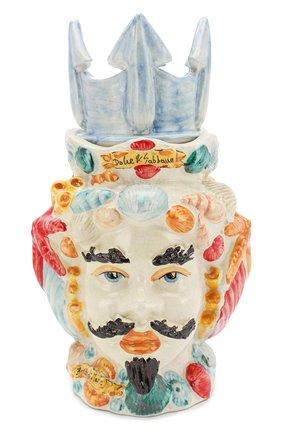 Мужского свеча в подсвечнике DOLCE & GABBANA разноцветного цвета, арт. PCN008/PCN00 | Фото 1