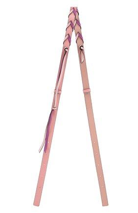 Женские ремень для сумки loewe x paula's ibiza LOEWE розового цвета, арт. C073S90X01 | Фото 1