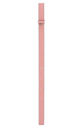 Женские ремень для сумки loewe x paula's ibiza LOEWE розового цвета, арт. C073S90X01 | Фото 2