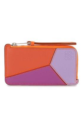 Женский футляр для кредитных карт loewe x paula's ibiza LOEWE оранжевого цвета, арт. 128.30WK07 | Фото 1
