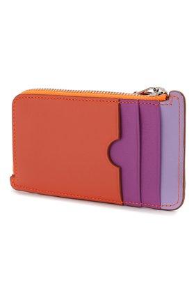Женский футляр для кредитных карт loewe x paula's ibiza LOEWE оранжевого цвета, арт. 128.30WK07 | Фото 2