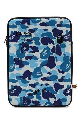 Мужского текстильный чехол для ipad BAPE синего цвета, арт. 1G20182120 | Фото 1