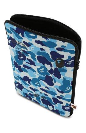 Мужского текстильный чехол для ipad BAPE синего цвета, арт. 1G20182120 | Фото 3