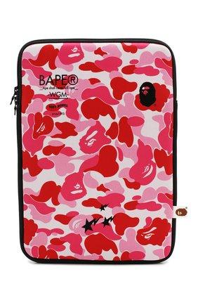 Мужского текстильный чехол для ipad BAPE розового цвета, арт. 1G20182120 | Фото 1