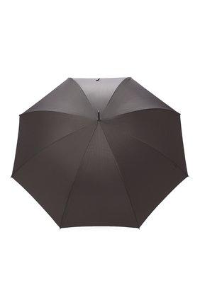 Мужской зонт-трость PASOTTI OMBRELLI серого цвета, арт. 478/RAS0 6768/7/W18 | Фото 1