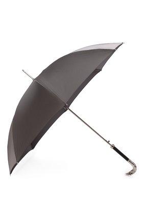 Мужской зонт-трость PASOTTI OMBRELLI серого цвета, арт. 478/RAS0 6768/7/W18 | Фото 2